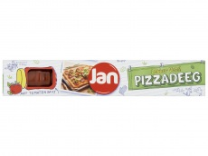 Pizzadeeg met tomatensaus product foto