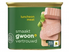 Luncheon meat product foto