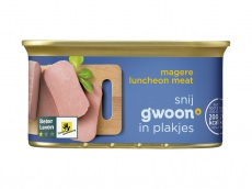 Magere luncheon meat product foto