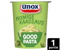 Goodpasta romige kaassaus en broccoli product foto