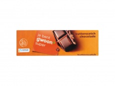 Chocoladereep butterscotch product foto
