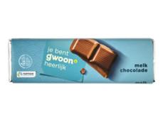 Chocoladereep melk product foto