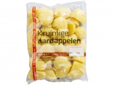 Kruimige aardappelen product foto