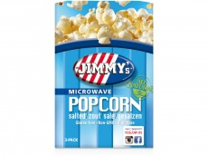 Magnetron popcorn zout product foto