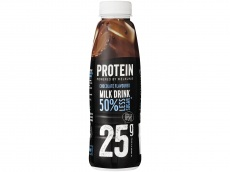 Protein shake chocolate product foto