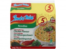 Noodles chicken product foto