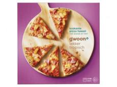 Krokante pizza hawaii product foto