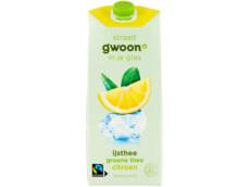 IJsthee groene thee citroen product foto