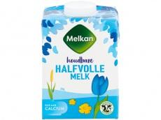 Halfvolle melk houdbaar product foto