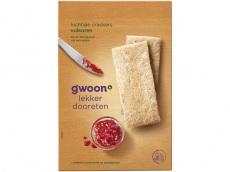 Luchtige crackers volkoren product foto