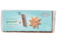 Ontbijtkoek minder suiker gesneden product foto