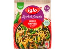 Noodles met rundvlees product foto