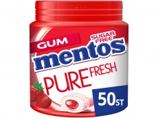 Gum pure fresh aardbei product foto