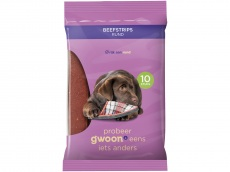 Beefstrips hond product foto