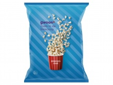Popcorn zout product foto
