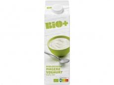 Biologische magere yoghurt product foto