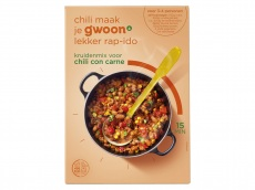 Mix voor chili con carne product foto