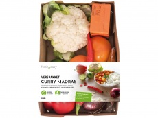 Verspakket indiase curry madras product foto
