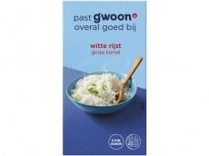 Witte rijst product foto