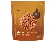 Dry roasted pinda's product foto