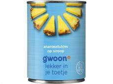 Ananasstukjes siroop product foto