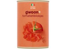 Tomatenblokjes product foto