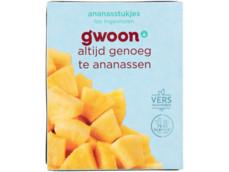 Ananasstukjes product foto