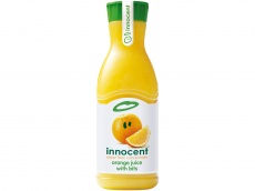 Orange juice product foto