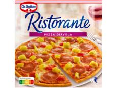 Ristorante pizza diavola product foto
