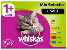 Kattenvoer 1+ mixed product foto