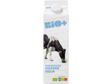 Biologische magere melk product foto