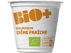 Biologische creme fraiche product foto