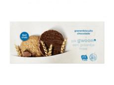 Granenbiscuit choco product foto