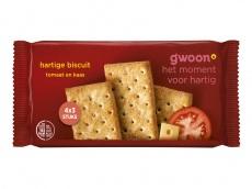 Hartige biscuits kaas/tomaat product foto