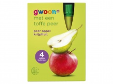 Knijpfruit appel peer product foto