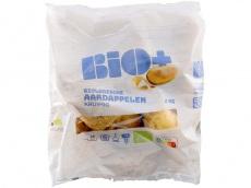 Biologische aardappelen kruimig product foto