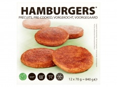 Hamburgers product foto