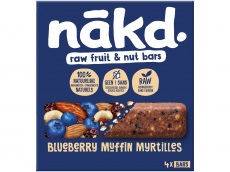 Notenrepen blueberry muffin product foto