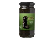 Zwarte olijven schijfjes product foto