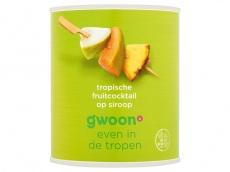 Tropische fruitcocktail product foto