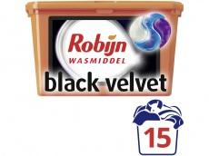 Wasmiddel 3-in-1 capsules black velvet product foto