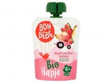 Appel aardbei pouch bio 6+ mnd product foto