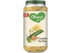 Courgette kip pasta product foto