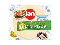 Mini pizzadeeg product foto