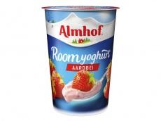 Roomyoghurt aardbei product foto