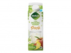 Magere yoghurt perzik product foto