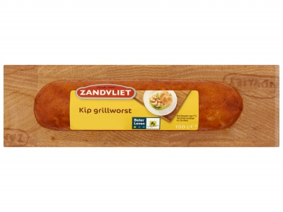 Kip grillworst product foto