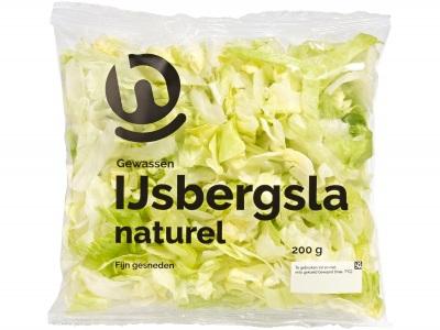 IJsbergsla naturel product foto
