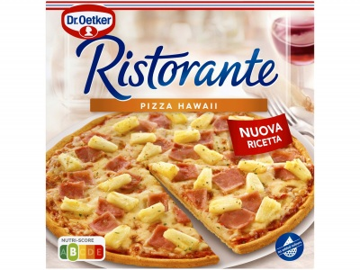 Ristorante pizza hawaii product foto