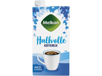 Halfvolle koffiemelk product foto